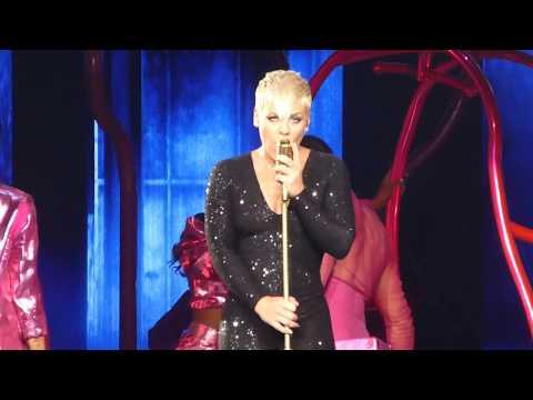 P!NK - Beautiful Trauma Live At Rod Laver Arena  17/7/18 PINK