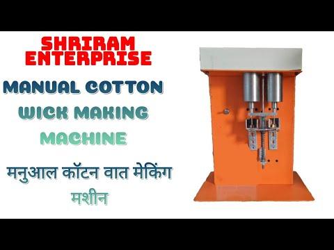 Manual Cotton Wicks Machine