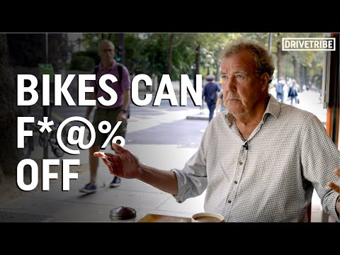 Clarkson explains why cycling is actually bad for the environment