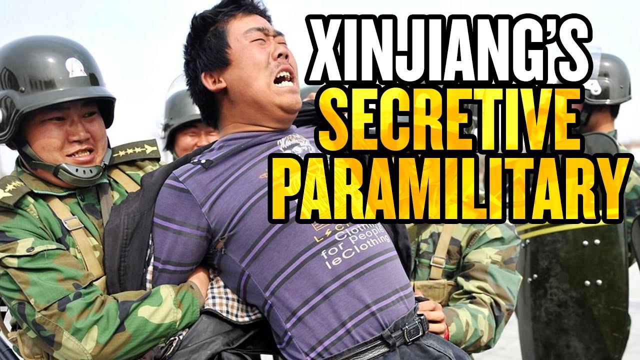 US Sanctions Secretive Communist Party Paramilitary in Xinjiang thumbnail