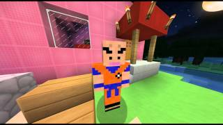 Goku Minecraft Skin Videos - Skin para minecraft pe de dragon ball z