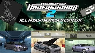 The NFS Underground 2 Beta (All Removed Content) Ft. HGCentral
