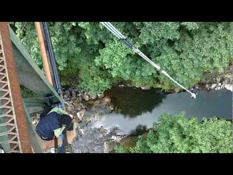 1st time Bungee Jumping