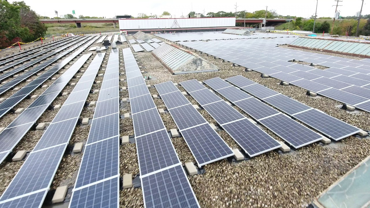 Maglio just installed a 376kW solar array on their Glendale, WI facility. This system should produce more than 452,000 kWh per year, saving $35,000 per year in electricity costs and paying for itself in 5.2 years!