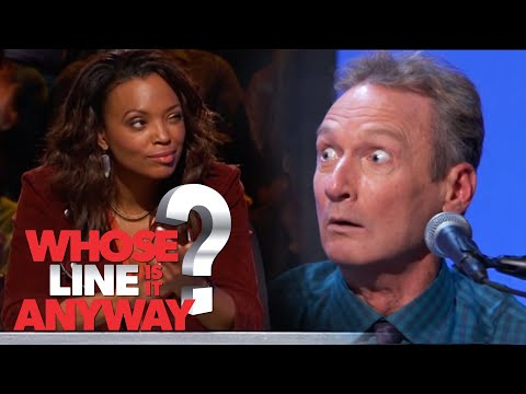 Zpravodajství: Den v životě Aishy Tyler - Whose Line Is It Anyway?