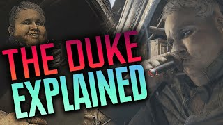 The Story of The Duke EXPLAINED! All Hidden Lore + All Scenes - Resident Evil Village