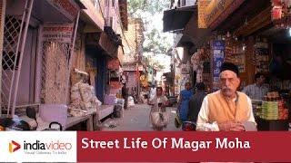 Street life of Magar Moha Street, Ujjain