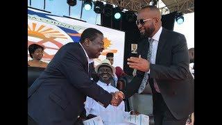 Musalia Mudavadi atoa hotuba yake katika uapishwaji wa Hassan Joho
