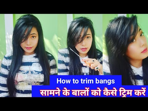 Download How To Cut Your Front Hair Side Swept Bangs Front