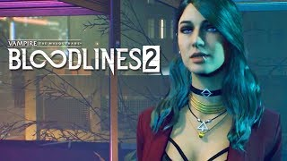 Vampire The Masquerade: Bloodlines 2 - Extended Gameplay Reveal Trailer | E3 2019