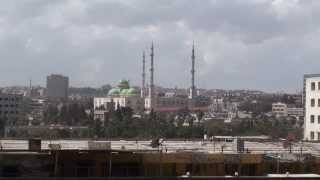 preview picture of video 'View over Aleppo ﺣﻠﺐ - Syria سوريا'