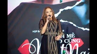 Thanh Hà hát live 'Mới mẻ nào cũng ngọt ngào' hay hơn cả bản MV