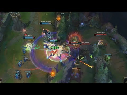[NB] INF (Tactical Ezreal) VS CLD (Obese Panda Camille) Game 2 Highlights - 2018 NA Scouting Grounds