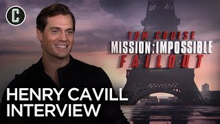 "Henry Cavill Talks Mission: Impossible – Fallout, Tom Cruise And Plays ""Ice Breakers"""