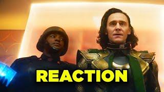 LOKI TRAILER REACTION! New Avengers Endgame Timeline Explained!