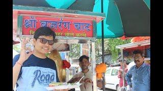 Ahmedabad Street Food  - Shree Bajarang Chole Kulcha  Only for 50₹