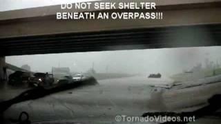Newcastle, OK tornado: DO NOT SEEK SHELTER BENEATH AN OVERPASS!