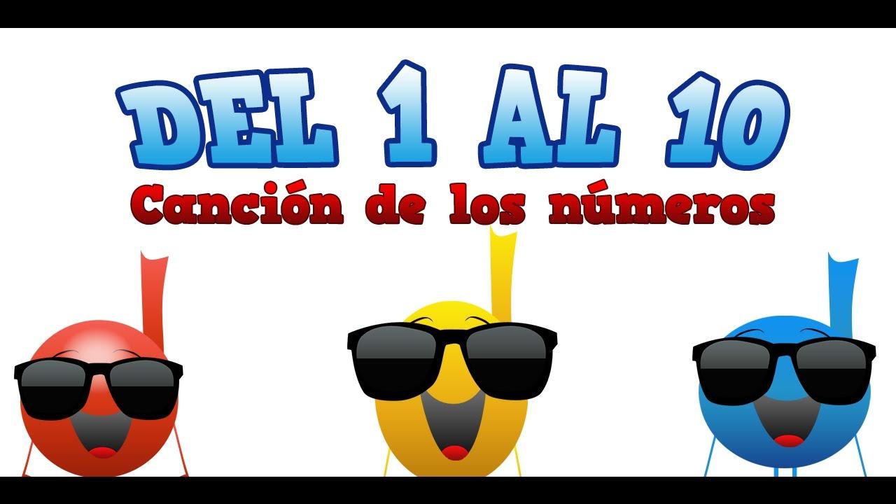 APRENDE A CONTAR DEL 1 AL 10. LA CANCIÓN DE LOS NÚMEROS. DOMISOL SONGS