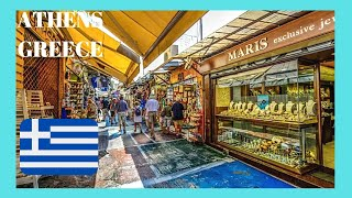 GREECE, the famous FLEA MARKET in MONASTIRAKI, ATHENS