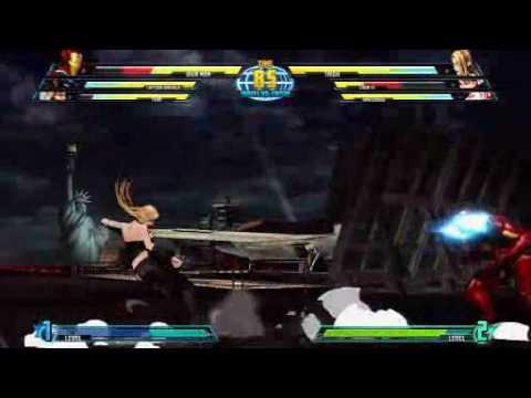 New Marvel vs Capcom 3 combat gameplay
