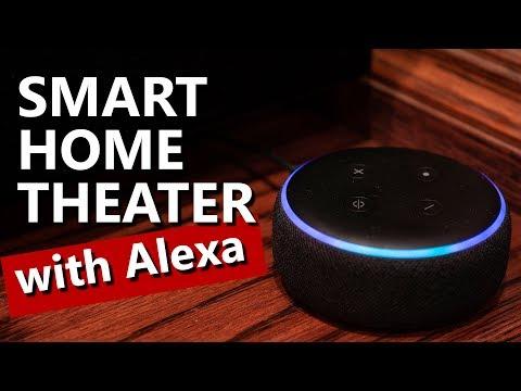 Using Amazon Alexa to Control Home Theater | Smart Home
