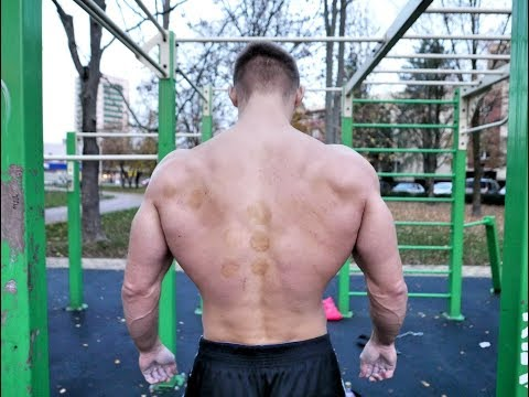 Cold pullups 20x32kg + ice discipline in mountains