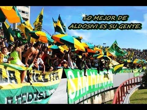 """""""ALDOSIVI , FIESTA & CARNAVAL ??? 9/2/2014 contra San Martin de SJ"""" Barra: La Pesada del Puerto • Club: Aldosivi"""