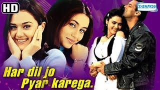 Har Dil Jo Pyar Karega (HD) Salman Khan, Rani Mukerji, Preity Zinta - Hindi Movie With Eng Subtitles