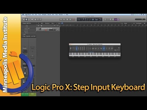 How To Use Apple Logic Pro X Step Input
