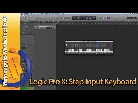 How To Use Apple Logic Pro X Step Input