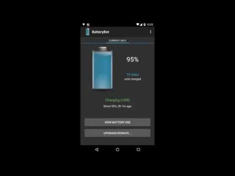 Video of BatteryBot Battery Indicator
