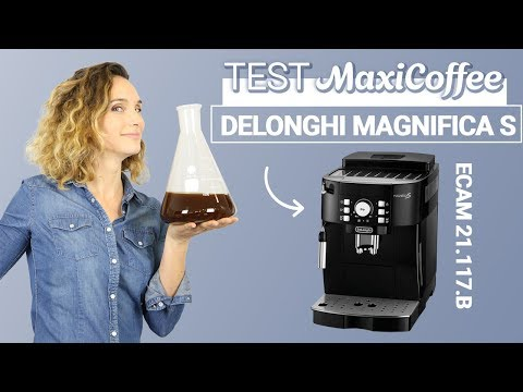 DELONGHI MAGNIFICA S ECAM 21 117 B | Machine à café automatique | Le Test MaxiCoffee