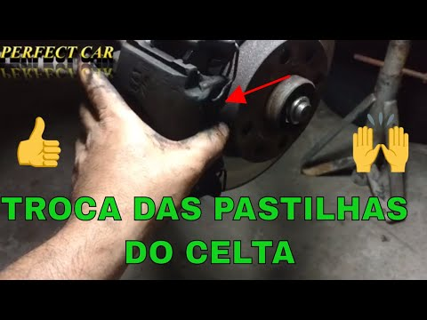 CARLOS - TROCA DAS PASTILHAS DE FREIO DO CELTA & CORSA