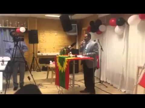 Hasawa Obbo Jawar Mohammed hundeefama OMN waggaa 2ffaa Bergen, Norway
