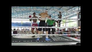 Бои в тайской тюрьме.Муай тай