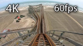 Great White front seat on-ride 4K POV @60fps Morey