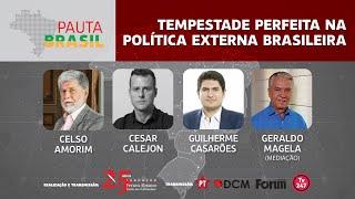 #aovivo | Tempestade perfeita na política externa brasileira | Pauta Brasil