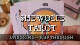 40. She Wolfe Tarot Unboxing | First Impressions | Serpetfire | Devany Wolfe
