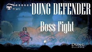 Hollow Knight [Dung Defender - Boss Fight] - Gameplay PC