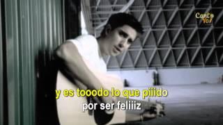 Alex Ubago - ¿Que Pides Tú? (Official CantoYo Video)