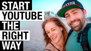 Grow A YouTube Channel With 0 Views And 0 Subscribers