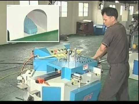 Double Blade Angular Sawing Machine