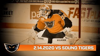 Sound Tigers vs. Phantoms | Feb. 14, 2020
