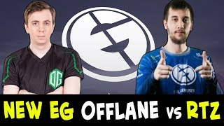 s4 gives lesson to Arteezy — NEW EG offlane
