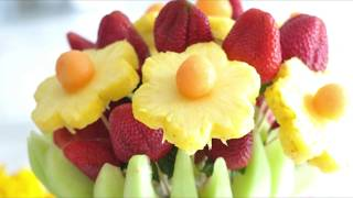 How To Make An Edible Fruit Bouquet By Cooking With Manuela