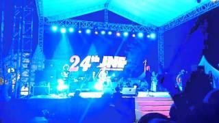 Konser NIDJI 24 Tahun JNE