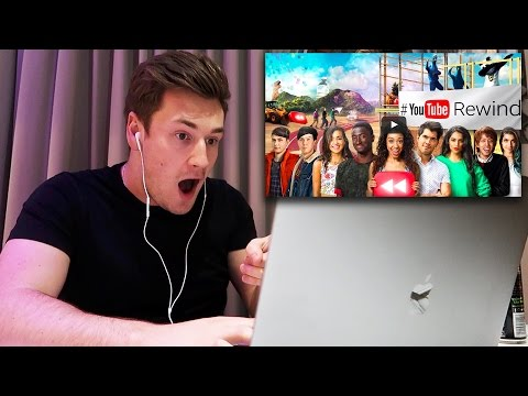 REACTING TO YOUTUBE REWIND 2016
