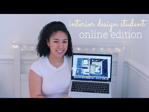 day in my life: interior design student *online edition*   2020✰