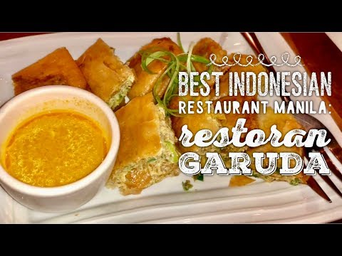 Best Indonesian Restaurant Manila: Restoran Garuda Authentic Indonesian Cusine Makati