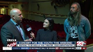 Concert for youth this weekend